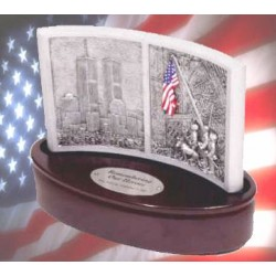 """Remembering Our Heroes"" - Commemorative Music Box"
