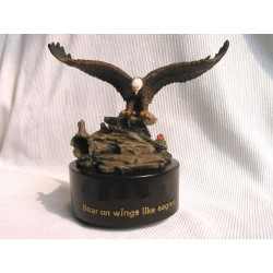 Wind Beneath Wings, Musical Box (Round Base)