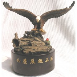 Wind Beneath Wings, Musical Box (In Chinese) (Round Base)