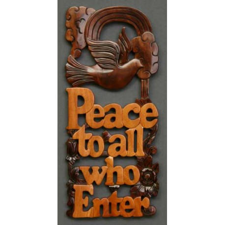 <font size=2>Peace to all who Enter</font>