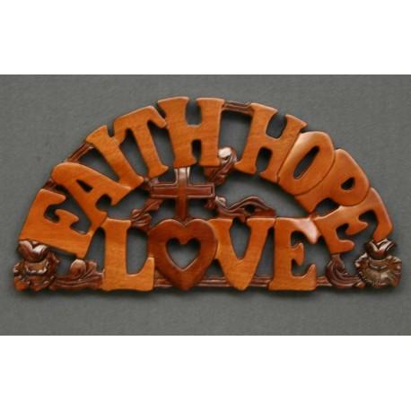 <font size=2>Faith, Hope, Love</font>