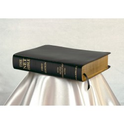 <font size=2>NET Bible Black Leather (First Edition) with cd</font>