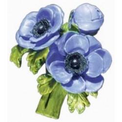 Anemones, blue